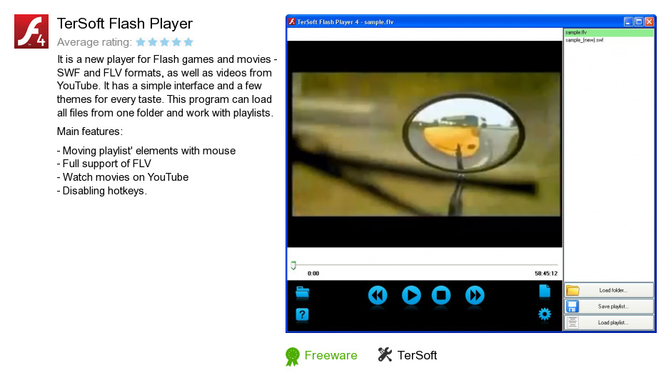 TerSoft Flash Player