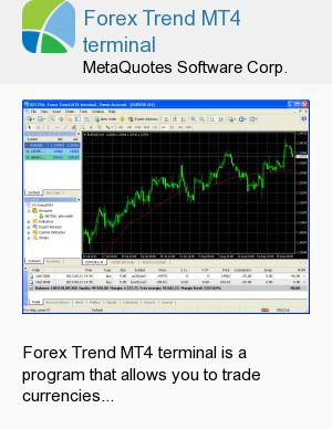 Forex Trend MT4 terminal