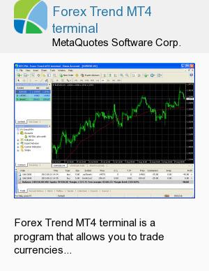 Forex Trend MT4 terminal