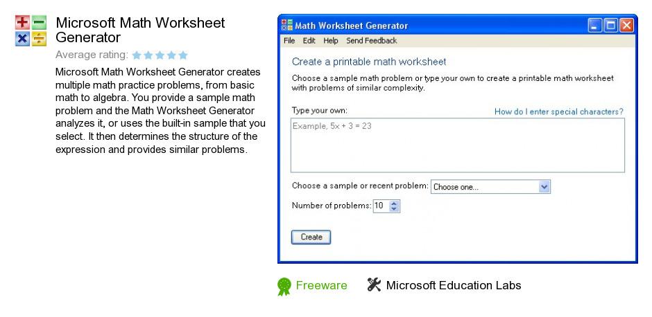 Maths Worksheet Generator Download sample math worksheet 11 free – Maths Worksheet Generator