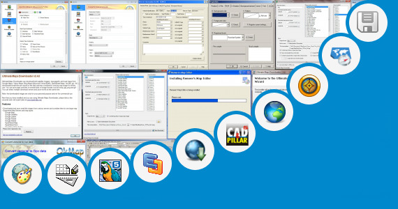 Software collection for Draw Road Map Software