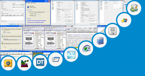 Software collection for Contoh Form Service Report