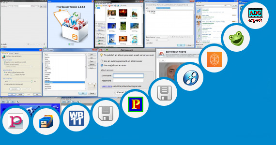 Software collection for Photo Phony Photo Editer Java