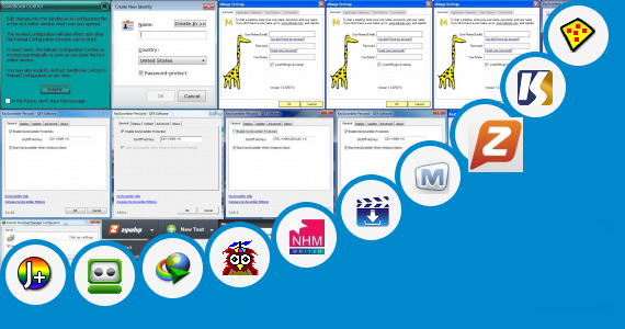 Software collection for Vxp Icon Browser Apps