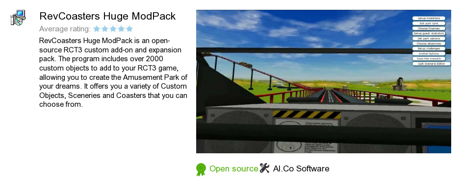 RevCoasters Huge ModPack