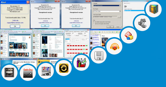 Software collection for B F Hundi Film 16 Years