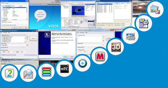 Software collection for Sony Loin Images