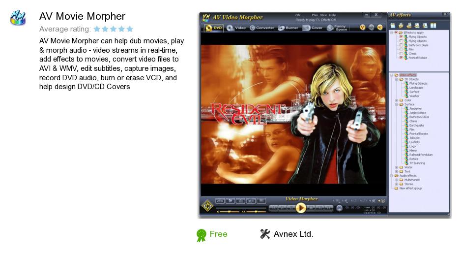 AV Movie Morpher