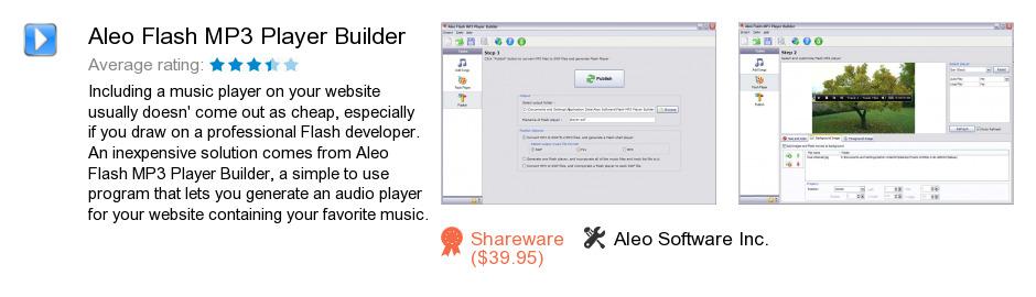 Aleo Flash MP3 Player Builder