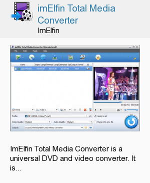 imElfin Total Media Converter