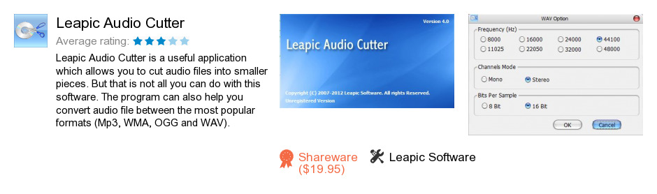 Leapic Audio Cutter