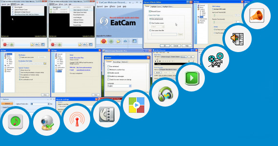 Software collection for Recording Livejasmin Streams