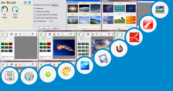 Software collection for Sun Glow Effect Free