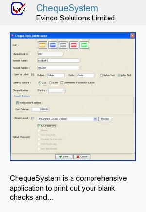 ChequeSystem