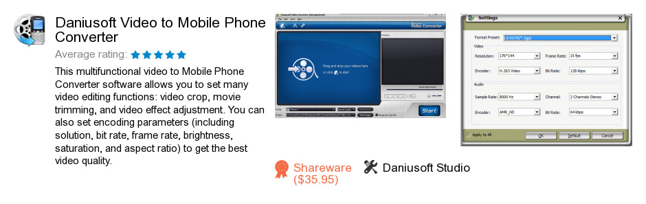 Daniusoft Video to Mobile Phone Converter