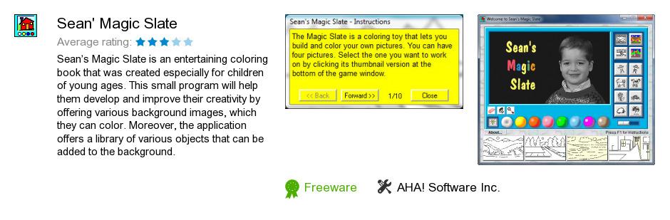 Sean's Magic Slate