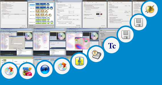 Software collection for Telugu Title Designing Software