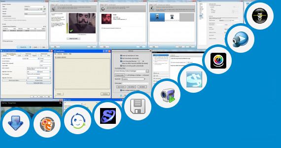 Software collection for Web Cam Face Tracking With Matlab