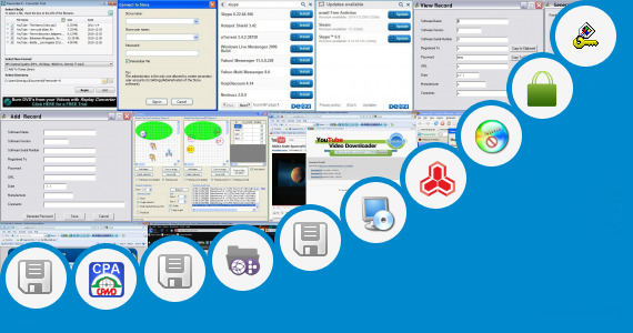 Software collection for Vxp Application Store