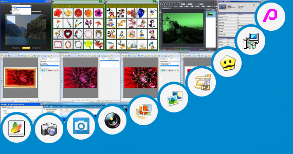 Software collection for Photo Edit Wapsite