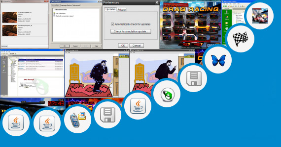 Software collection for Game Java Drag Race 320x240
