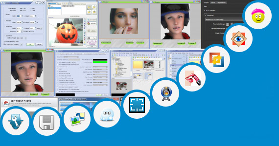Software collection for Browser Photo Editor Clean Face