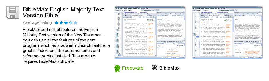BibleMax English Majority Text Version Bible