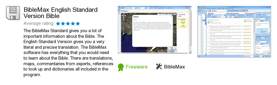 BibleMax English Standard Version Bible
