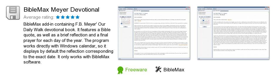 BibleMax Meyer Devotional