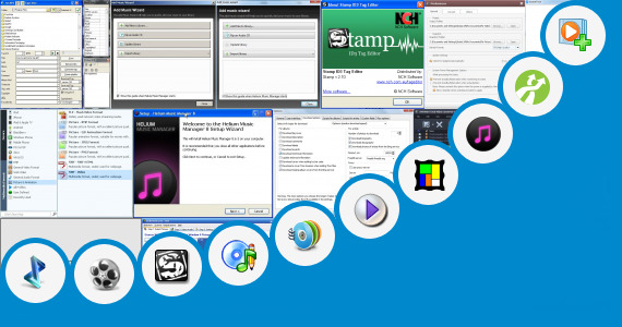 Software collection for Audio Song Add Picture Software