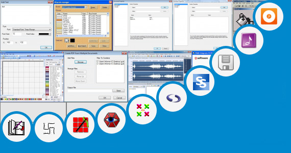 Software collection for Aplikasi Editing Cross T5