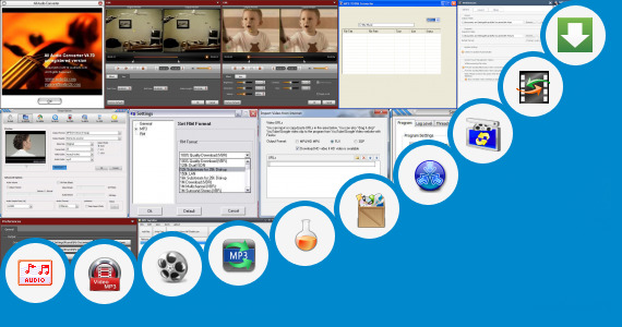 Software collection for Non Stop Mp3 Converters