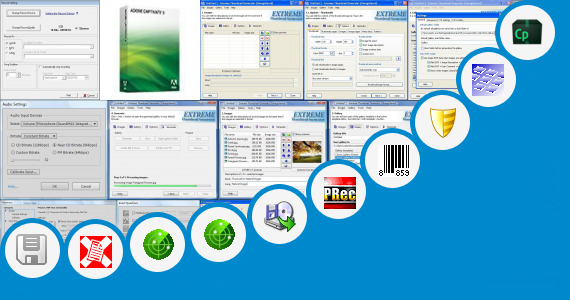 Software collection for R 3 Lms File Generator Power