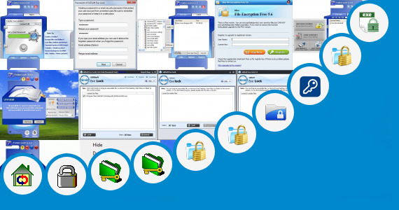Software collection for Lock My File Application In Vxp File