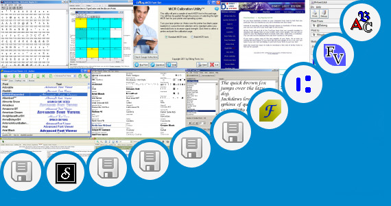 Software collection for Setting Font Evercoss T5