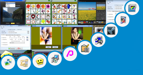 Software collection for Photo Editing Zone