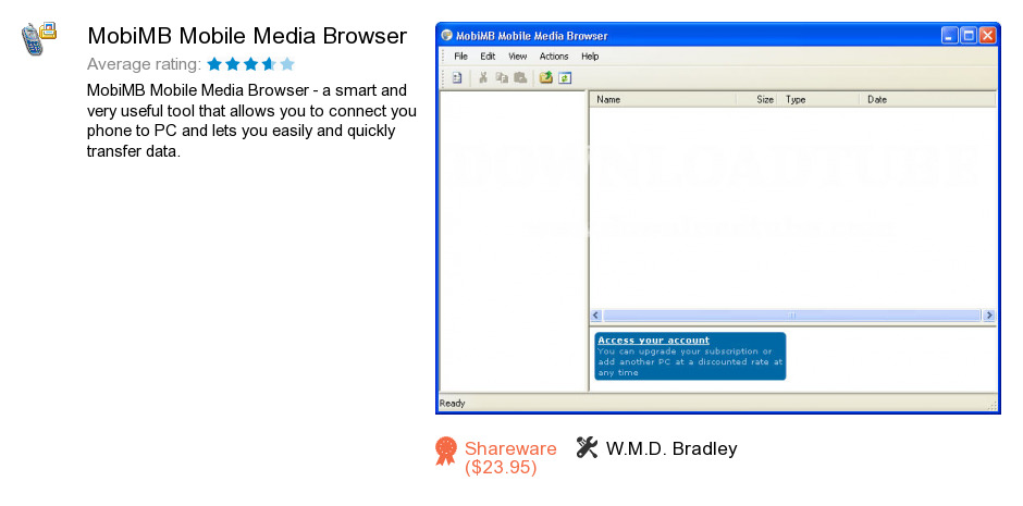 MobiMB Mobile Media Browser