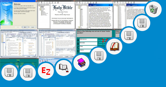 Software collection for Pc Study Bible Bible Soft Version 5