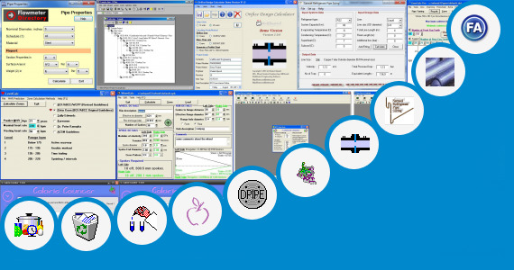 Software collection for Pipe Fitting Weight Calculator
