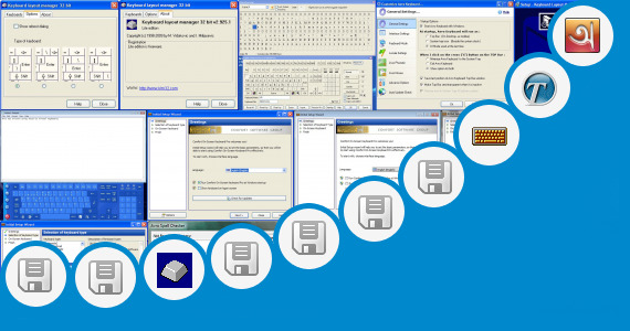 Software collection for Myanmar Keyboard Layout