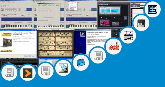 Software collection for Virtual Midi Keyboard Vst Plugin