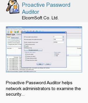 Proactive Password Auditor