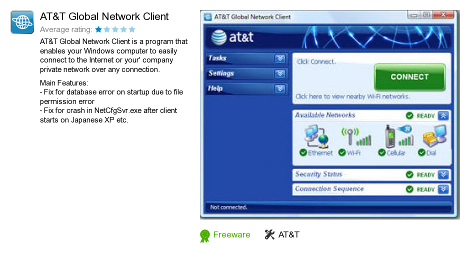 AT&T Global Network Client