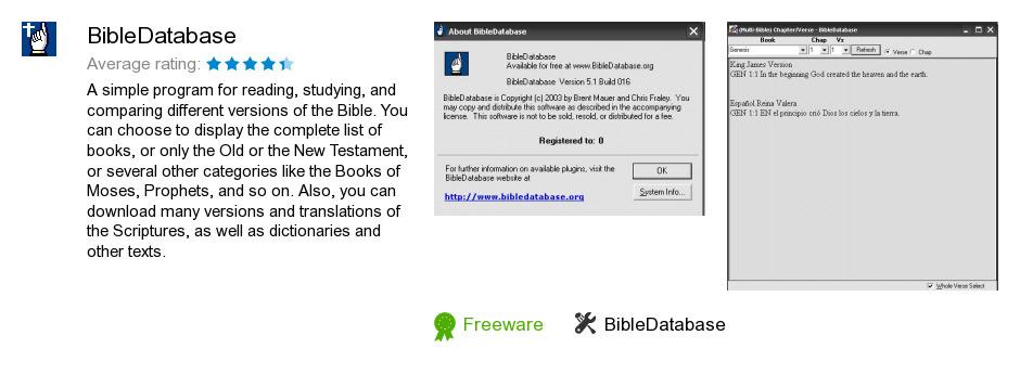 BibleDatabase