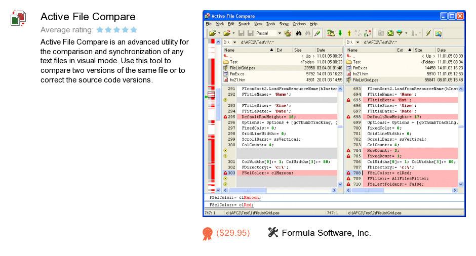 Active File Compare