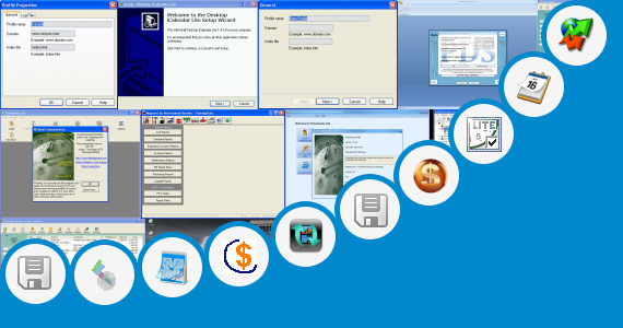 Software collection for Etime Track Lite