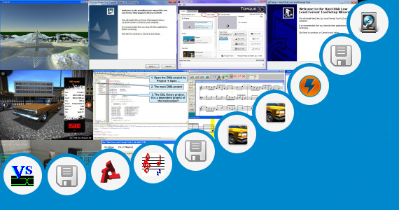 Software collection for Low Mb Pc Software