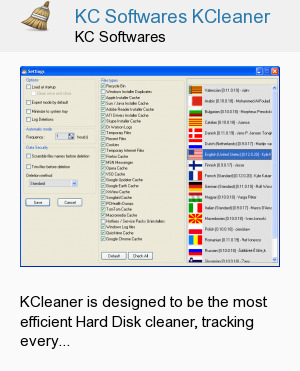 KC Softwares KCleaner