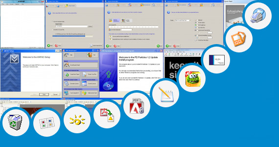 Software collection for Project Bordars For A4 Size Paper