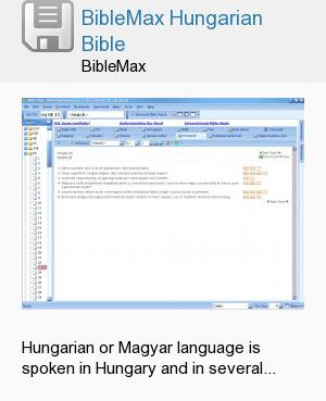 BibleMax Hungarian Bible